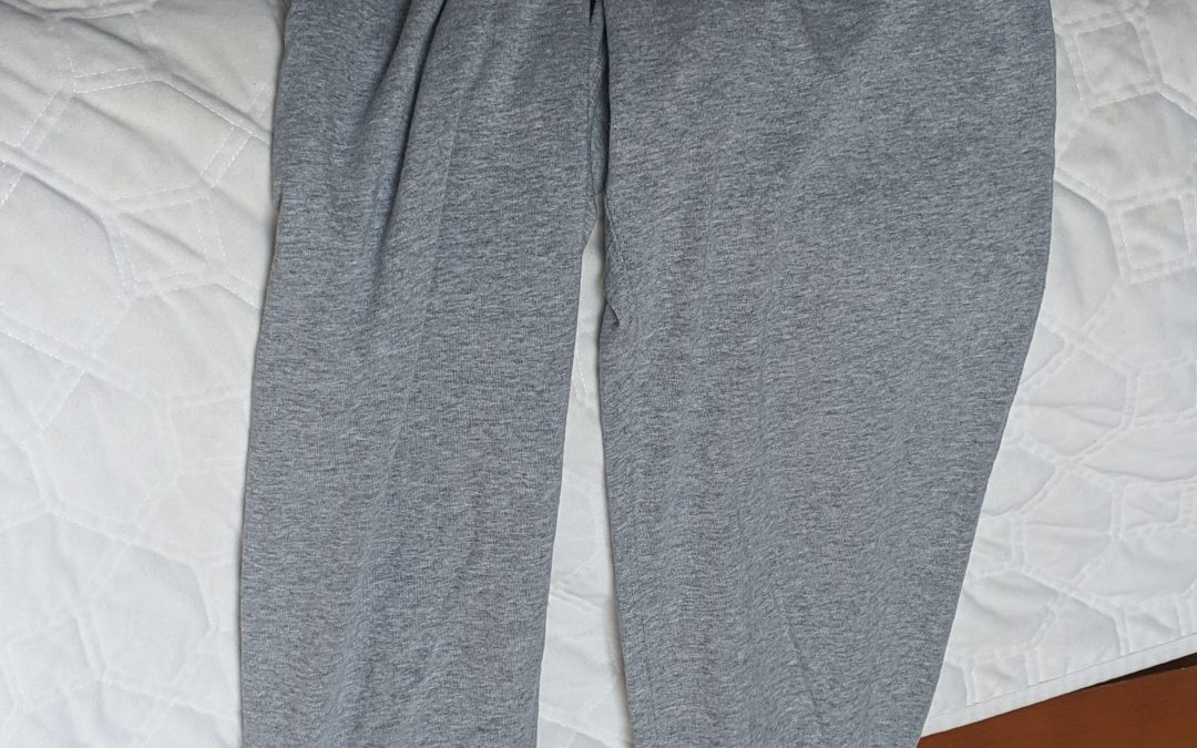 """Jake Discusses """"Too Mad"""" About the Light Grey Sweatpants"""